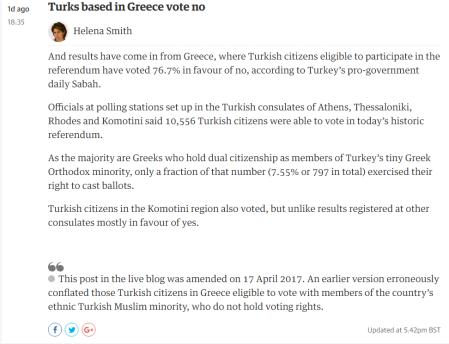 guardian corrected news turkish referendum 17-4-2017