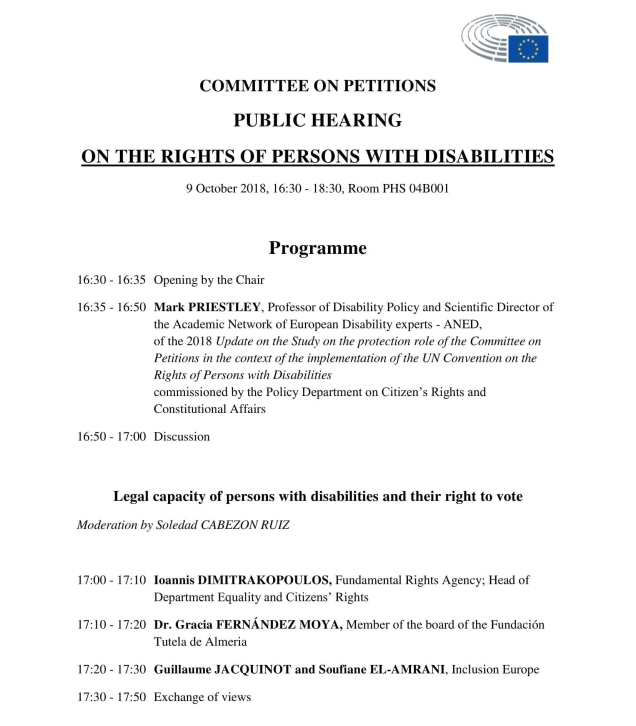 Final Programme PETI Hearing on The rights of persons with disabilities-1